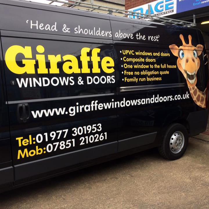 Our Window Installation Van