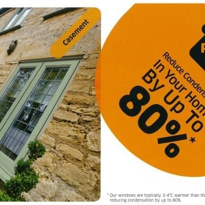Giraffe doors and windows in Pontefract sell casement widows. Reduce condensation in your home by up to 80% Replacement Modern double glazing